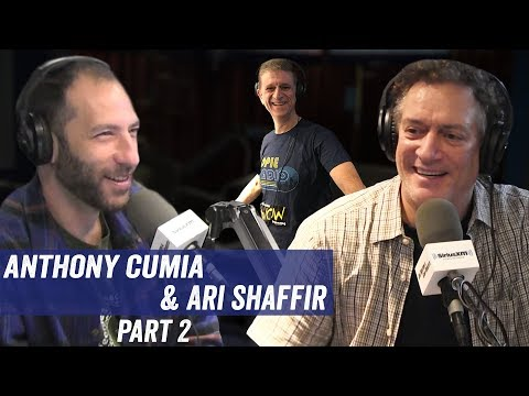 Anthony Cumia & Ari Shaffir Pt 2 - Old Jobs, Johnny Cash, 'Night of Too Many Stars' - Jim & Sam