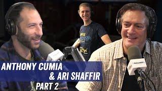 Anthony Cumia & Ari Shaffir Pt 2 - Old Jobs, Johnny Cash, 'Night of Too Many Stars' - Jim & Sam