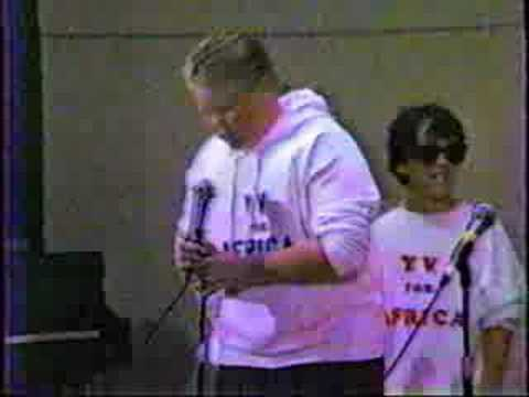 1984 Yucca Valley Elementary School Talent show, YV for Africans
