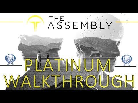 The Assembly Platinum Walkthrough  100% Trophy & Achievement Guide  2 hours Platinum
