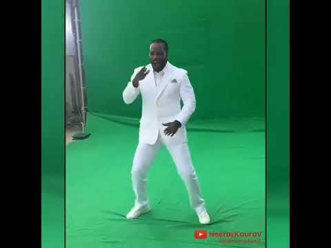 Pal Pal Teri Yaad Chris Gayle ka dance