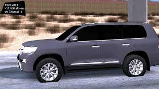 Toyota Land Cruiser VXR 2017 Test Drive GTA SA