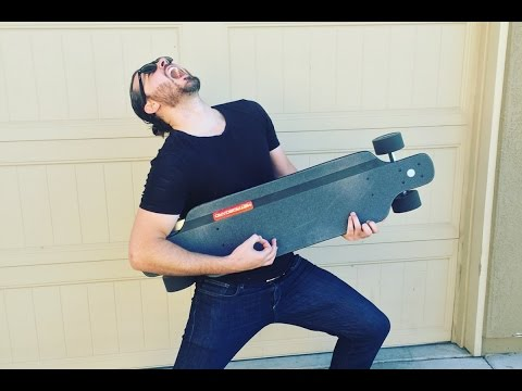 Metroboard Electric Skateboard Unboxing + Review = Best. Day. EVER!