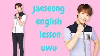 jaeseong english lesson but i made it worse - sf9 crack