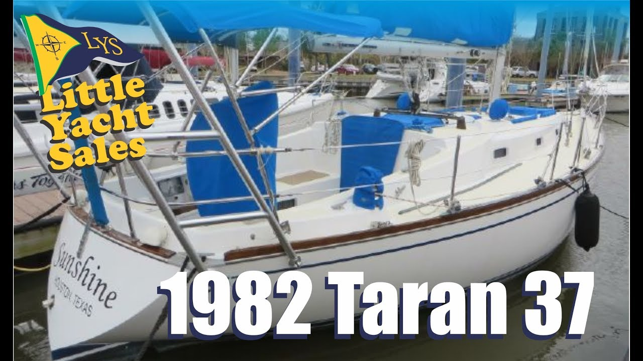 SOLD!!! 1982 Tartan 37 Sailboat for sale at Little Yacht Sales, Kemah Texas