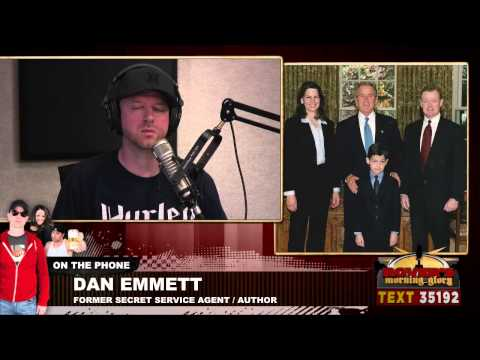 Former Secret Service agent Dan Emmett - full interview