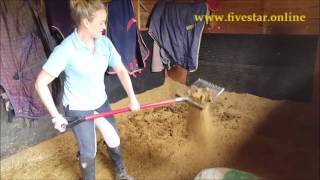 FIVE STAR bedding put to the test - The BIG muck out! www.fivestar.online
