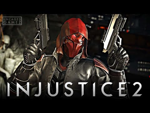 Injustice 2: ALL RED HOOD Intro Dialogues!!