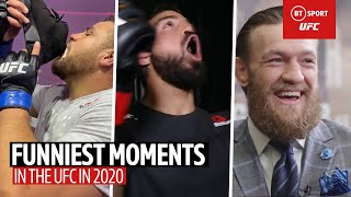 The Funniest UFC moments in 2020!