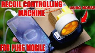 Recoil Controlling Machine for PUBG using Mouse | How to make | DIY