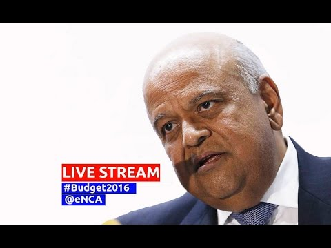 Finance Minister presents the 2016 budget to Parliament