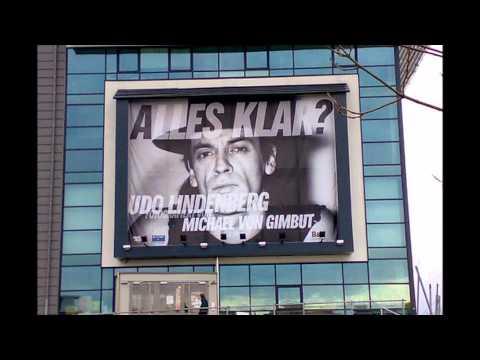 Udo Lindenberg auf Plakat