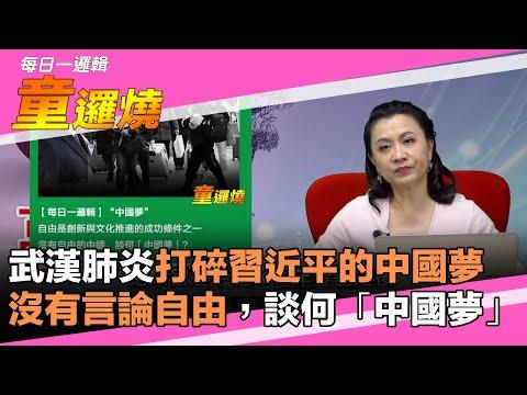 童温层:2020.02.17 武汉肺炎打碎习近平的中国梦!没有言论自由,谈何「中国梦」? 童逻烧