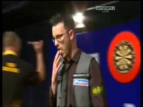 Paul Nicholson vs. The Crowd Incident - 2009 PDC UK Open