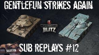 Gentlefun Strikes Again! - T49 & BatChat 25t AP - Sub Replays #12