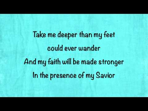 Hillsong United - Oceans (Where Feet May Fail) (Radio Edit) - (with lyrics)
