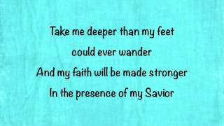 Hillsong United - Oceans (Where Feet May Fail) (Radio Edit) - (with lyrics)