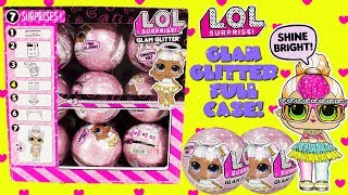 LOL Surprise Glam Glitter Series FULL CASE Cupcake Kids Club