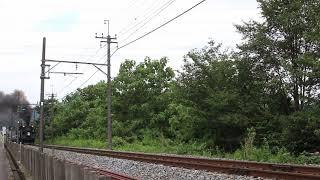 東武鉄道SL大樹4号 新高徳~大桑