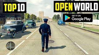 Top 10 New OPEN WORLD Games for Android 2020 | High Graphics (Online/Offline)