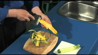 Zucchini/courgette Ribbon Salad - Quick, Easy, Nutritious, Delicously Homemade