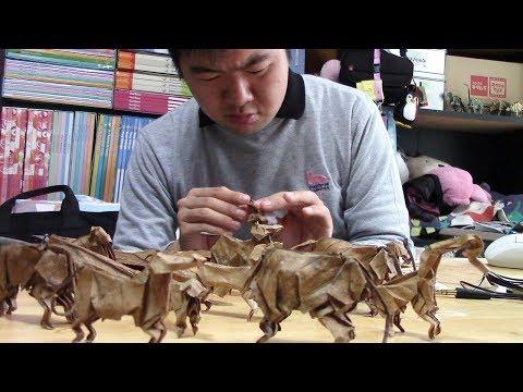 「折り葉」のアーティスト渡邊義紘さん