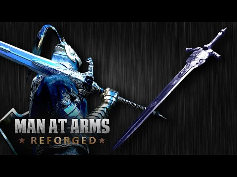 Thumbnail: Dark Souls III Great Sword of Artorias - MAN AT ARMS: REFORGED