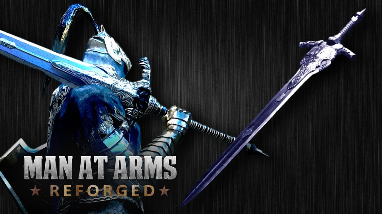 dark souls iii great sword of artorias man at arms reforged youtube