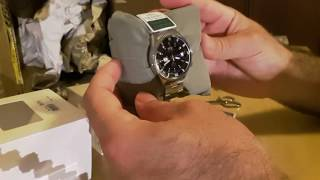 ORIENT KING MASTER automatic watch WV0031AA unboxing