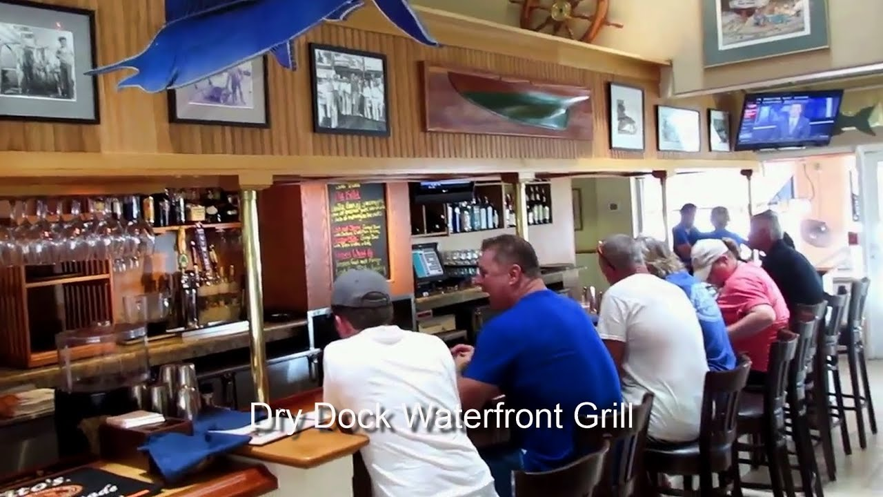 Dry Dock Waterfront Grill Review Longboat Key Fl