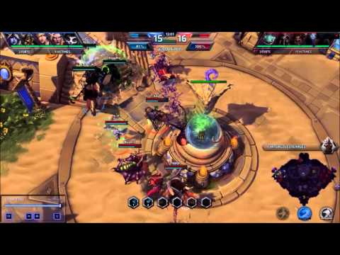 Heroes of the Storm - Submarine attack