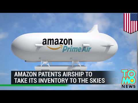 amazon-airship:-amazon-patents-unmanned-airship-to-launch-its-delivery-drones