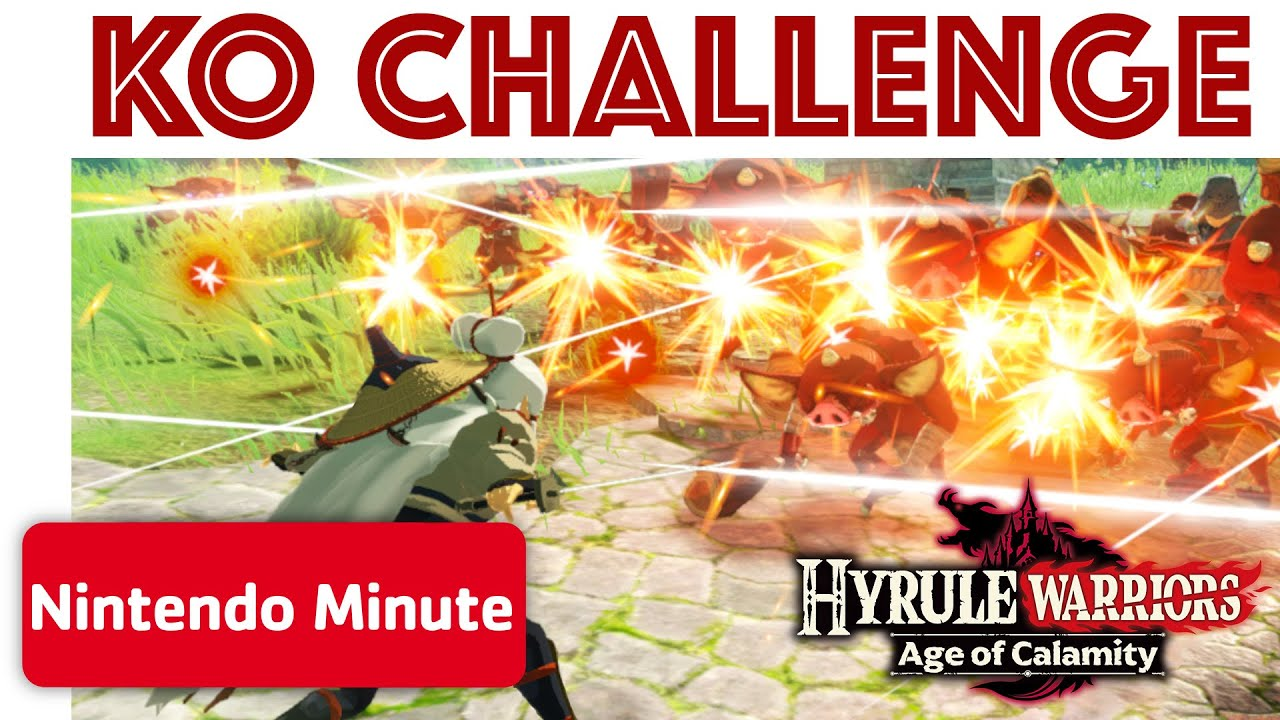 Hyrule Warriors Age Of Calamity K O Challenge Youtube
