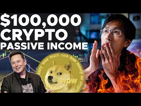 MAKING $100,000/DAY ON CRYPTO PASSIVE INCOME.  THIS IS INSANE.