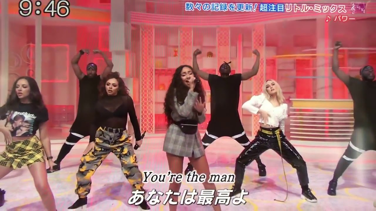 Little Mix「Power 」at NTV Sukkiri Live