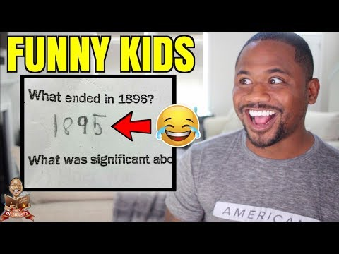 Funniest Test Answers by REAL KIDS | TOP 60 School FAILS (2017)