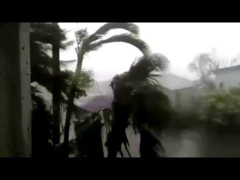 BREAKING! 200 MPH Hurricane Footage of Irma AFTERMATH (Anguilla St Maarten St Martin)