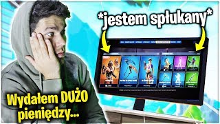 WHEN i DIE, I BUY the SKINS in FORTNITE... * I spent TOO much money * and I was opfeb by WIDZA!