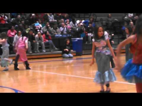 "Barbourville Elementary's ""Winter Festival"" - Jack & Megan dancing!"