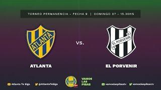 Atlanta 2 - 1 El Porvenir | #VamosLasPibas | Fútbol Femenino