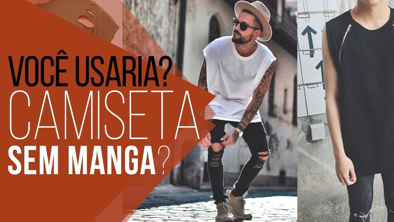 Camiseta OVERSIZED SEM MANGA -  VocêUsaria  - YouTube a6439d1a10e