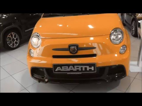 COLOR CHANGING - FIAT Abarth 695 Biposto ''Record Edition'' * see also Playlist