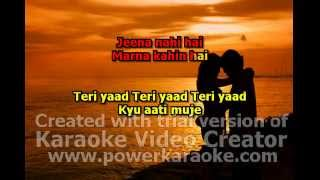 tere yaad darshan raval with lyric