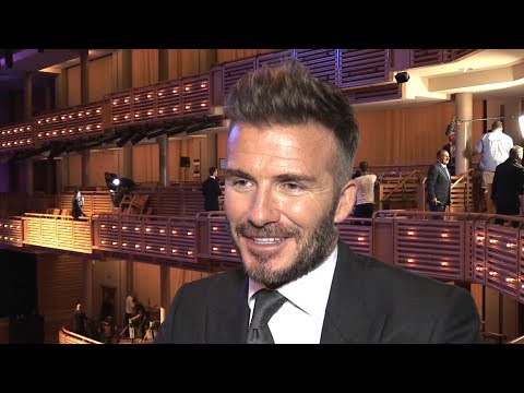 David Beckham Interview - 'My MLS Franchise Will Focus On Youth'
