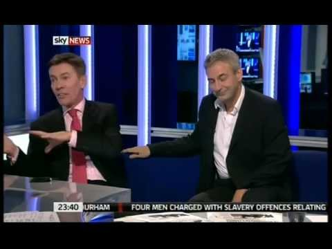 Sky News Paper Review giggles with Andrew Pierce, Kevin Maguire and Anna Botting