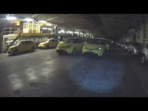 RECENTLY ABANDONED Car Factory (Brand New Cars)
