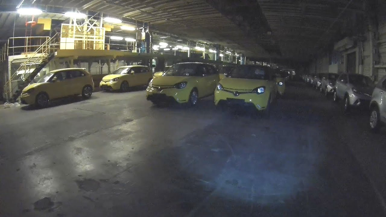 RECENTLY ABANDONED Car Factory (Brand New Cars) - YouTube