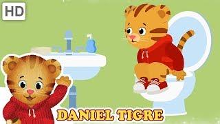 Daniel Tigre em Português 🚽 Canções de Banheiro (15 Minutos!)   Vídeos para Crianças