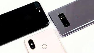 Mi 8, iPhone 7 Plus, Galaxy Note 8: Chọn náy nào trong tầm giá 9 triệu?