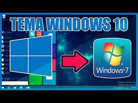 descargar tema de windows 10 para windows 7 y xp